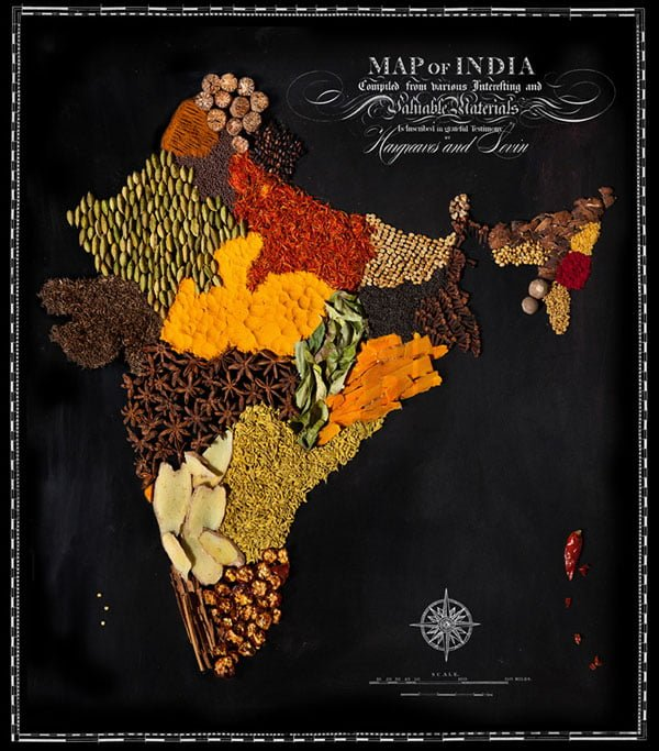 Food Maps by Henry Hargreaves and Caitlin Levin - India
