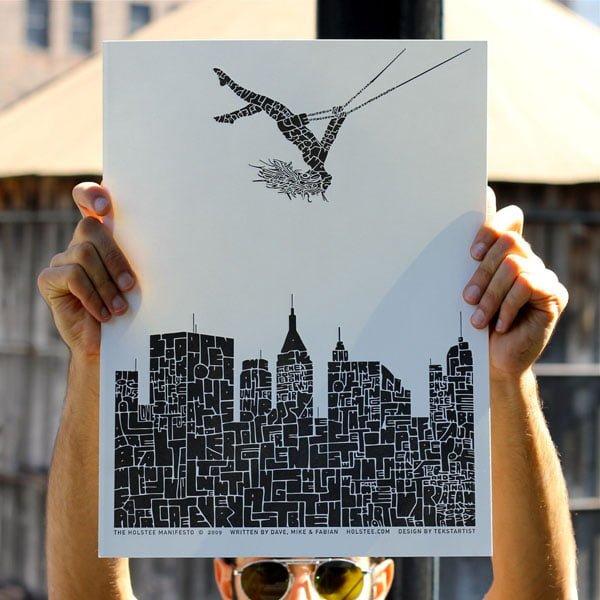 Naiise - Holstee Cityscape Poster