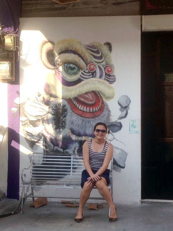 Penang Street Art - Lion Dance