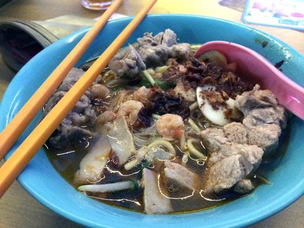 Penang Food - prawn mee