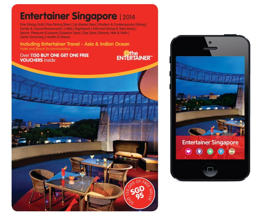 The Entertainer Singapore