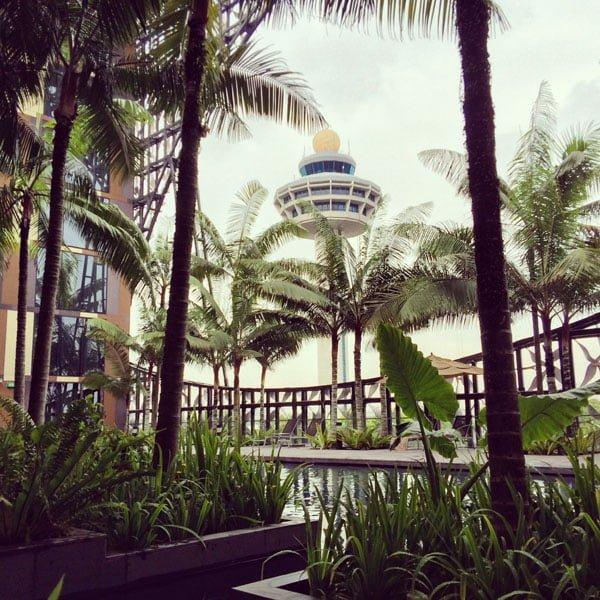 Crowne Plaza Changi Airport - Pool Control Tower