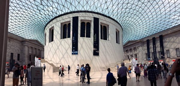 London Work Trip - British Museum Atrium