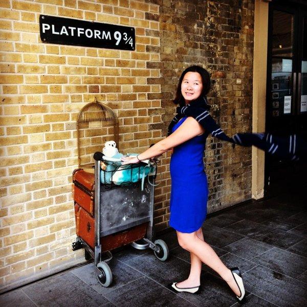 London Work Trip - Kings Cross Platform