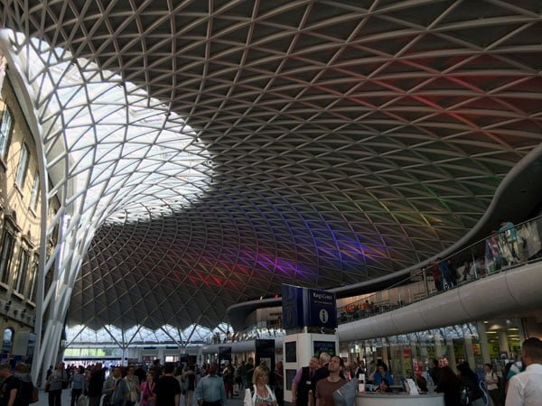 London Work Trip - Kings Cross Station Roof