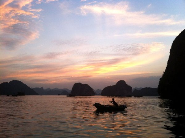 Vietnam - Halong Bay Sunset