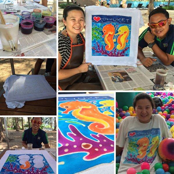 Holiday Inn Phuket Mai Khao Batik Painting