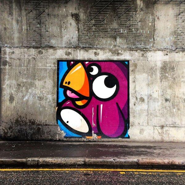 London Street Art -Penguin