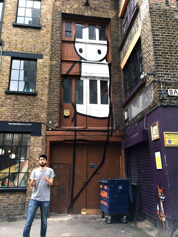 London Street Art - Stik Rivington