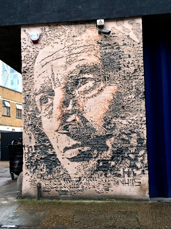 London Street Art - Vhils