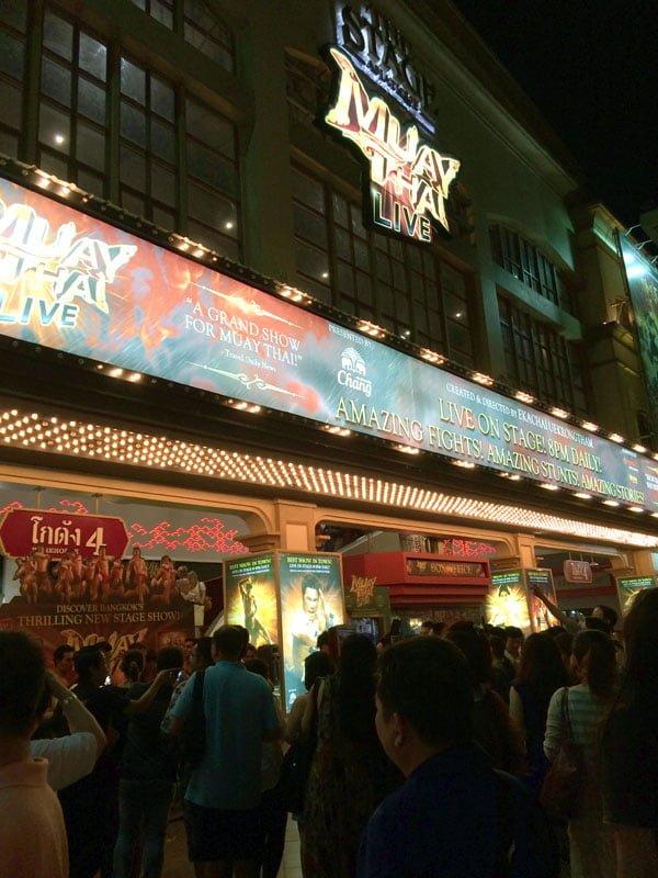 Bangkok - Asiatique Muay Thai Live Theatre