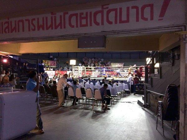Bangkok - Rajadamnern Stadium Doorway