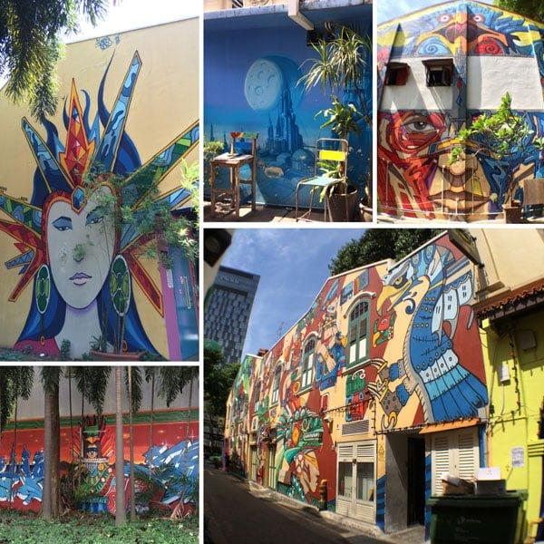 Singapore Street Art - JabaOne Piedra Negra