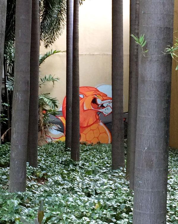 Singapore Street Art - Merlion LR