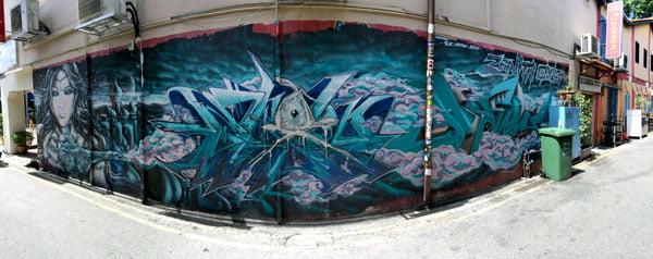 Singapore Street Art - SlacMyowAsno