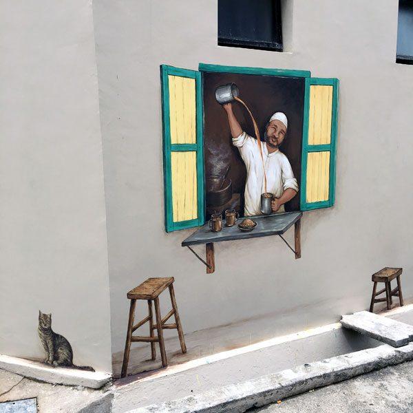 Singapore Street Art - YipYC ARC tarik