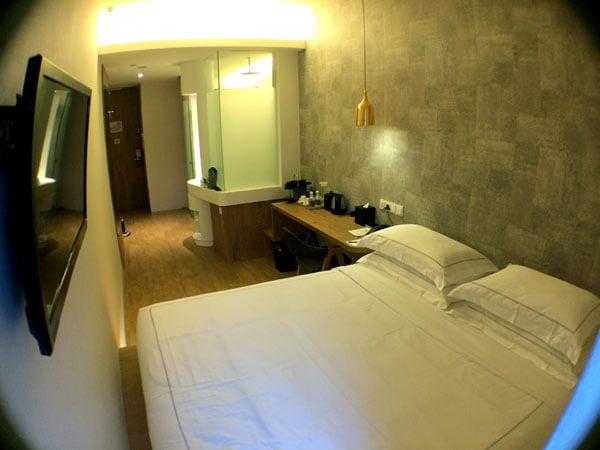 Big Hotel - Room from Window