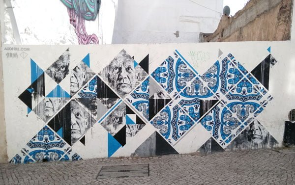 Portugal - Lagos Street Art Addfuel-Samina