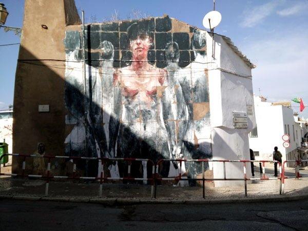 Portugal - Lagos Street Art Borondo
