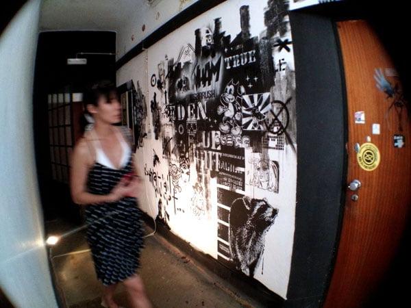 Portugal - Lagos Street Art LAC corridor blur