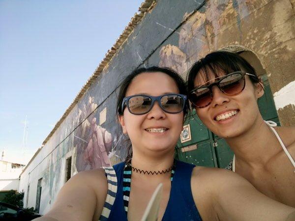 Portugal - Lagos Street Art Selfie