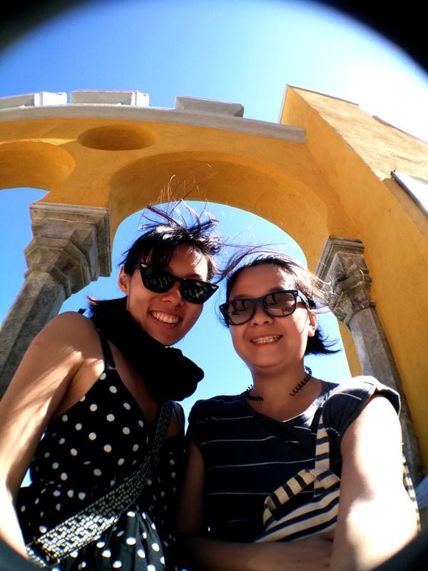 Portugal - Sintra Pena Palace Selfie