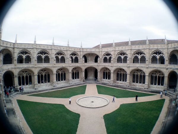 Portugal - Lisbon Belem Monastery Courtyard