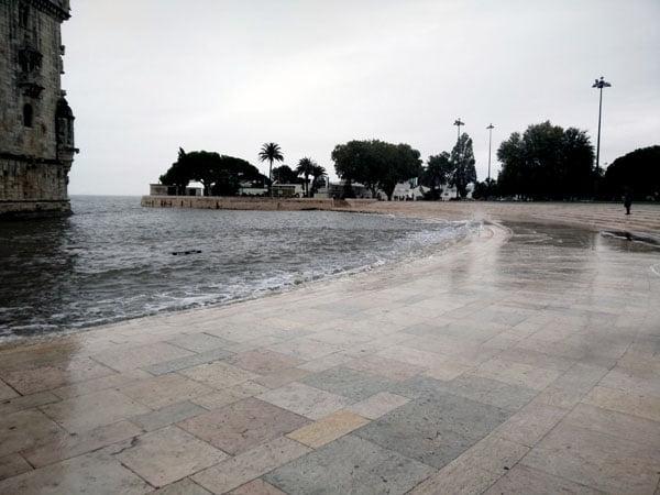 Portugal - Lisbon Belem Tower Water