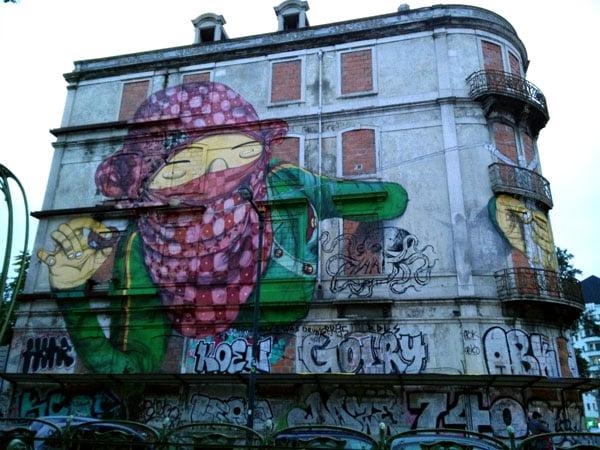 Portugal - Lisbon Street Art Crono Project Os Gemeos