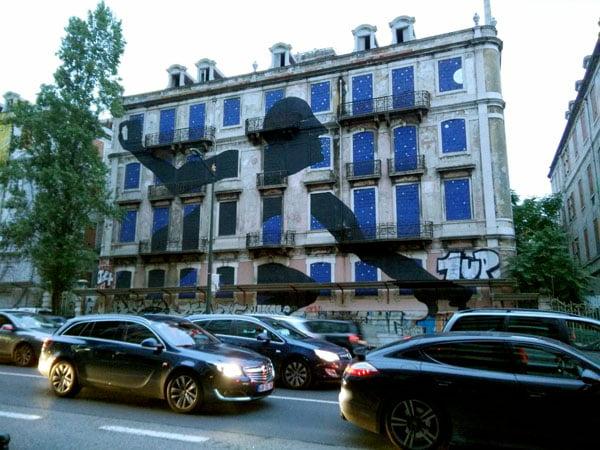 Portugal - Lisbon Street Art Crono Project Sam3 Thief