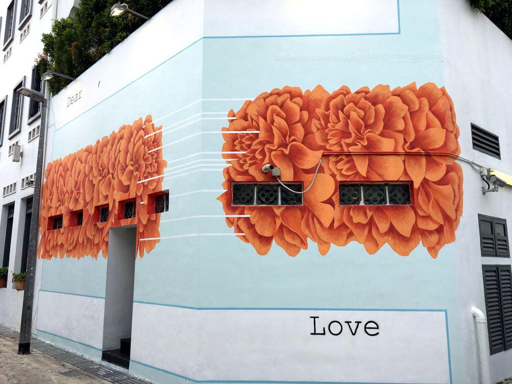 Singapore Street Art Little India Dickson Road Sobandwine