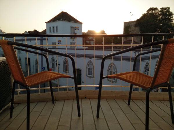 Portugal - Tavira Guesthouse Balcony