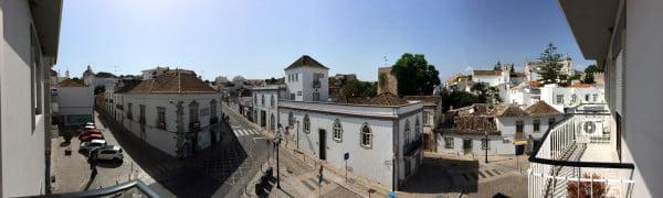 Portugal - Tavira Guesthouse Balcony Panorama