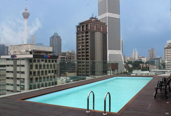 Pacific Express Hotel Central Market - Pool