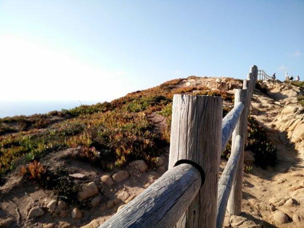 Portugal - Cabo da Roca Fence Post
