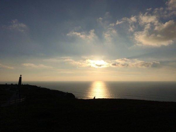 Portugal - Cabo da Roca Sunset Silhouette