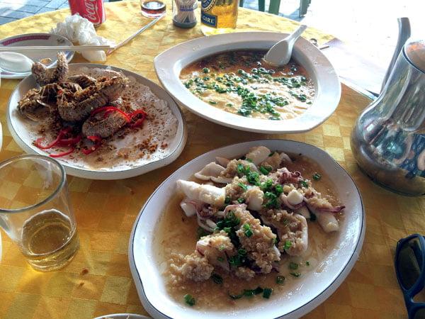 Hong Kong Cheung Chau - New Baccarat Food
