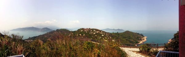 Hong Kong Cheung Chau - Northern Lookout Panorama