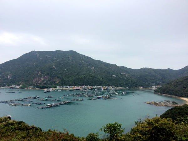 Hong Kong Lamma - Bay view