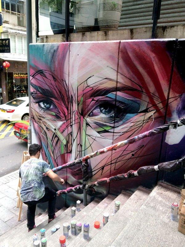 Hong Kong Street Art – Sheung Wan and Central