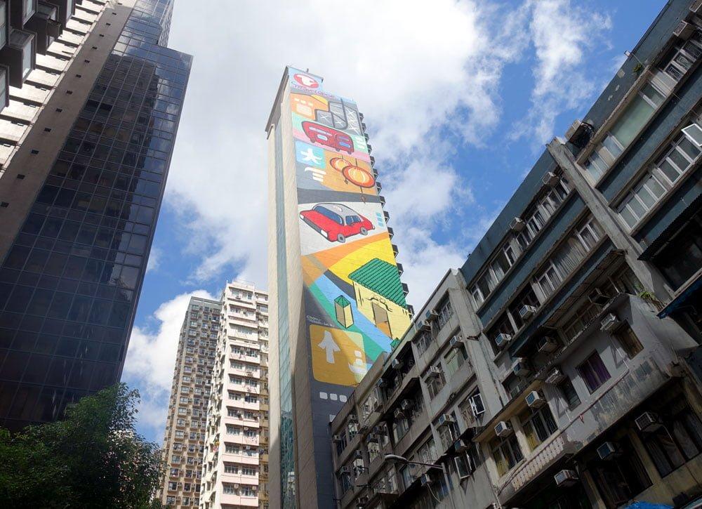 Hong Kong Street Art Travelodge Central Stern Rockwell