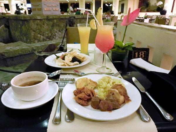Bali Grand Mirage Resort Food