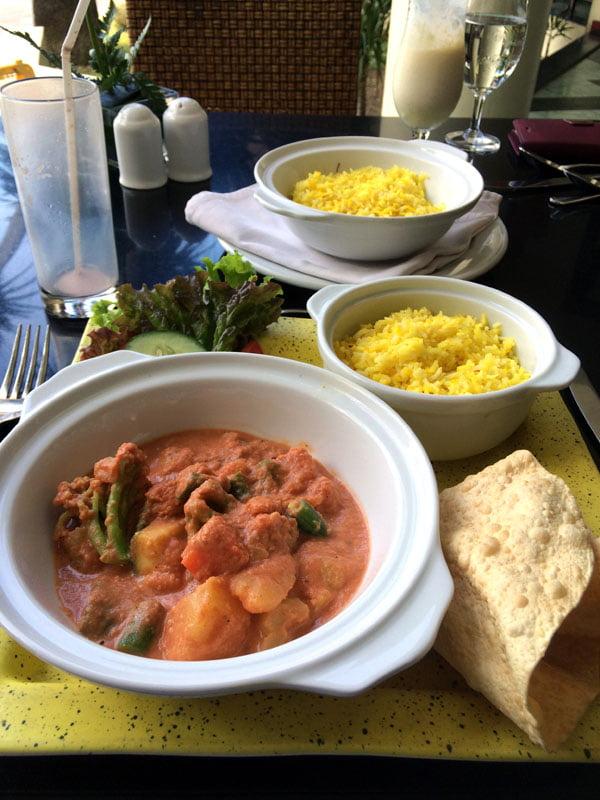 Bali Grand Mirage Resort Indian Food