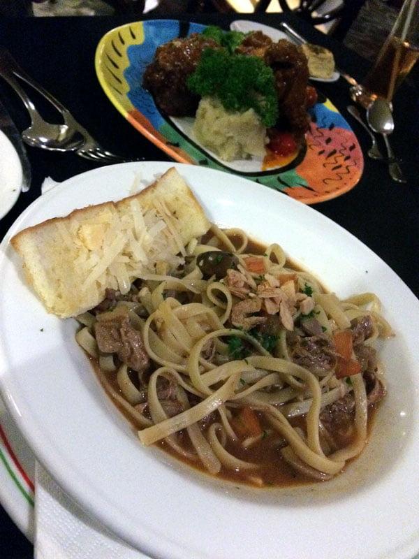 Bali Grand Mirage Resort Italian Pasta