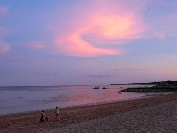 Bali Grand Mirage Resort Pink Sunset