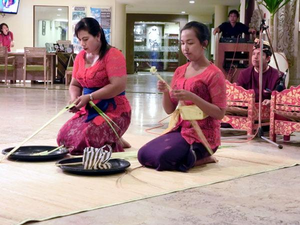 Bali Grand Mirage Resort Weaving