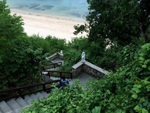 Bali Samabe Beach Stairs