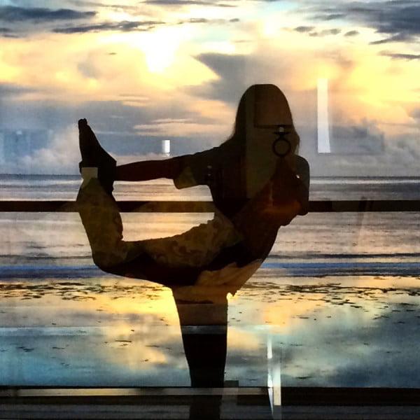 Bali Samabe Sunrise Pose