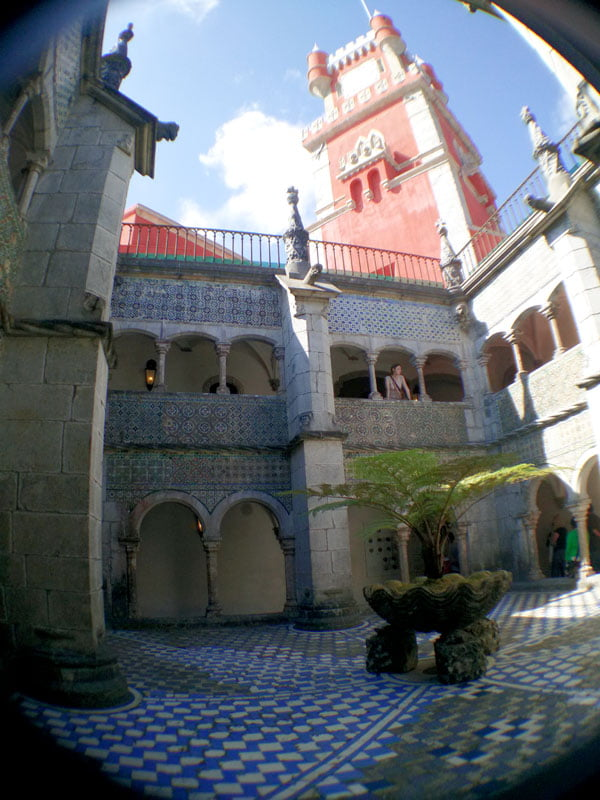 Portugal - Sintra Pena Palace Inner Courtyard