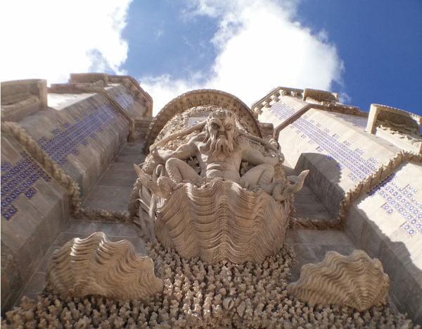 Portugal - Sintra Pena Palace Merman Doorway
